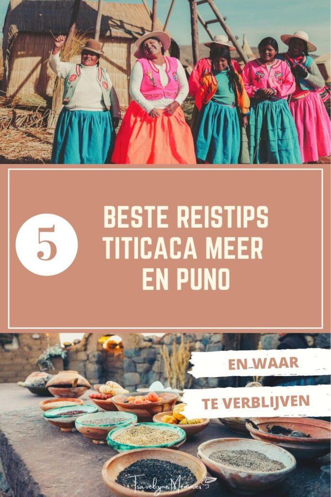 Titicaca meer Pin I