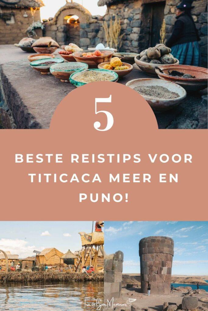 Titicaca meer Pin II