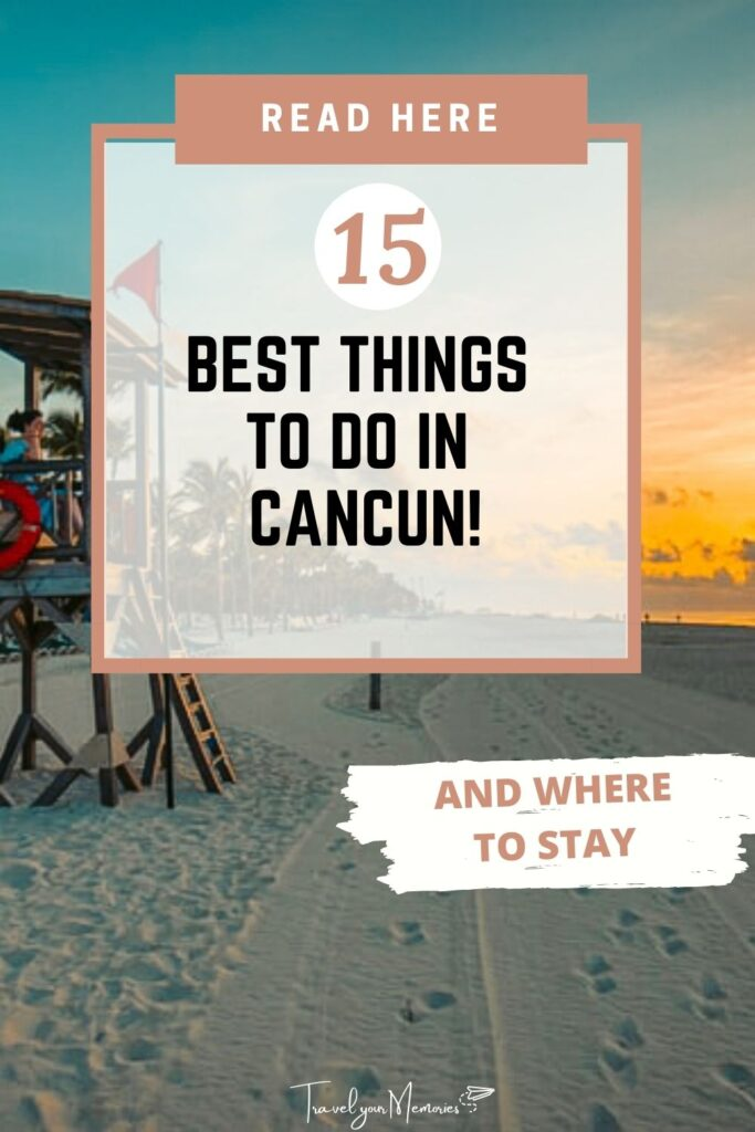 things to do in Cancun pin I