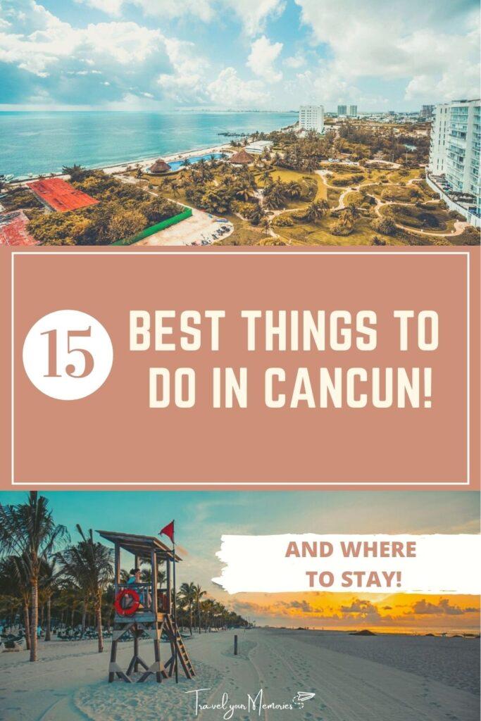 things to do in Cancun pin II