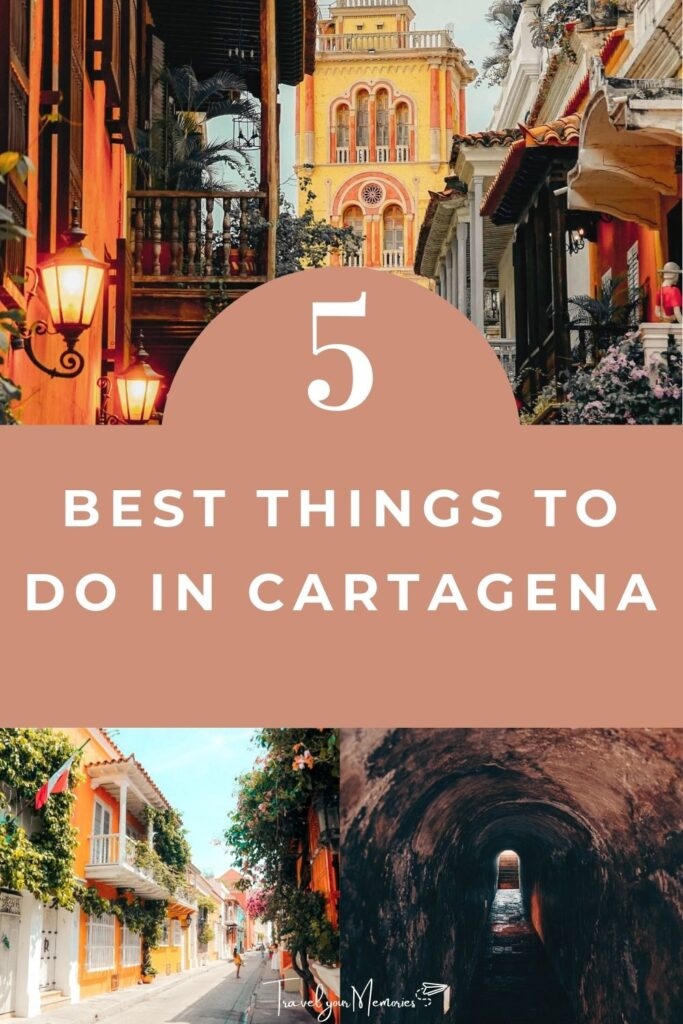 things to do in Cartagena pin I