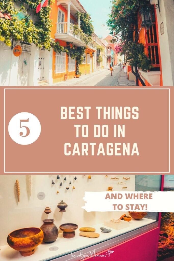 things to do in Cartagena pin II