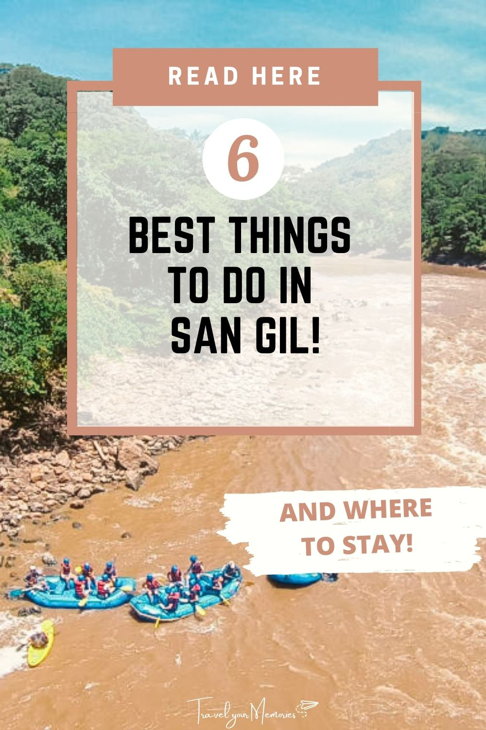 Best 6 things to do in San Gil Colombia