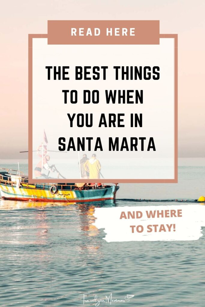 things to do in Santa Marta Pin II