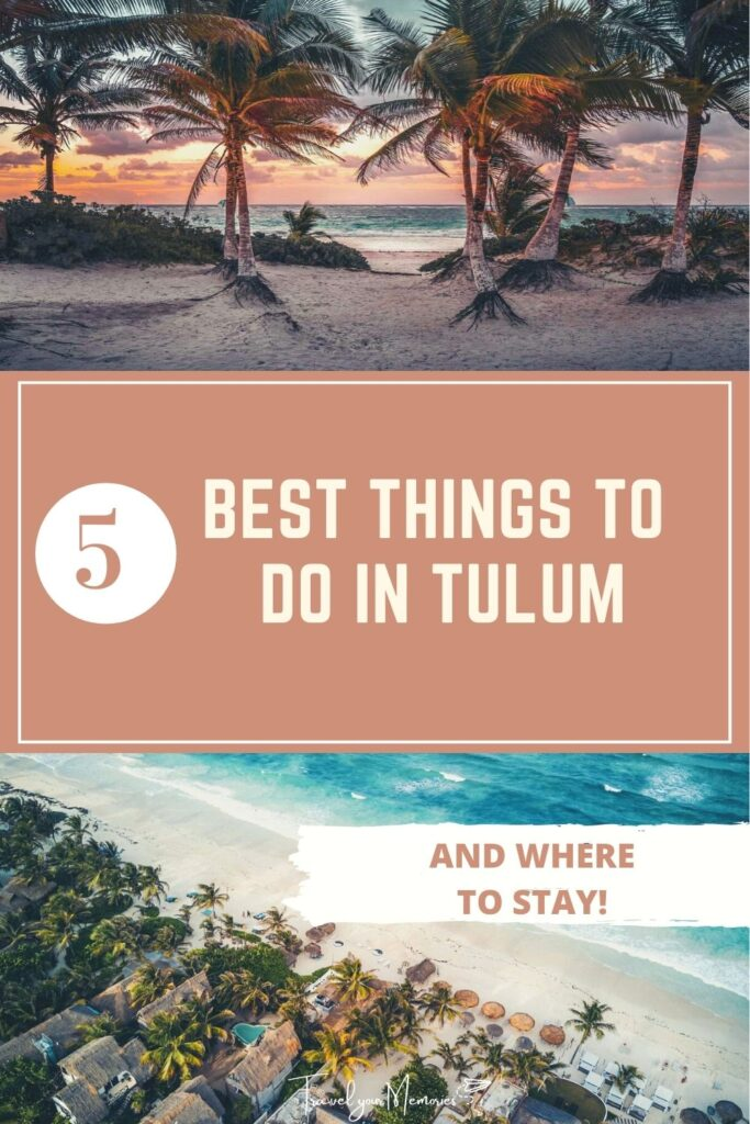 things to do in Tulum pin I