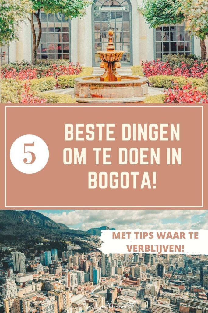 wat te doen in Bogota pin III