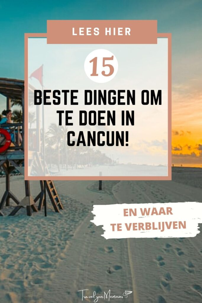 wat te doen in Cancun pin I