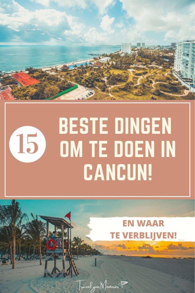 wat te doen in Cancun pin II