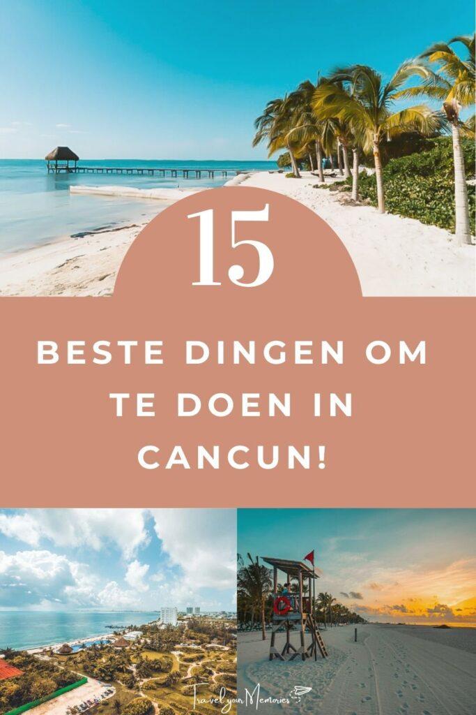wat te doen in Cancun pin III