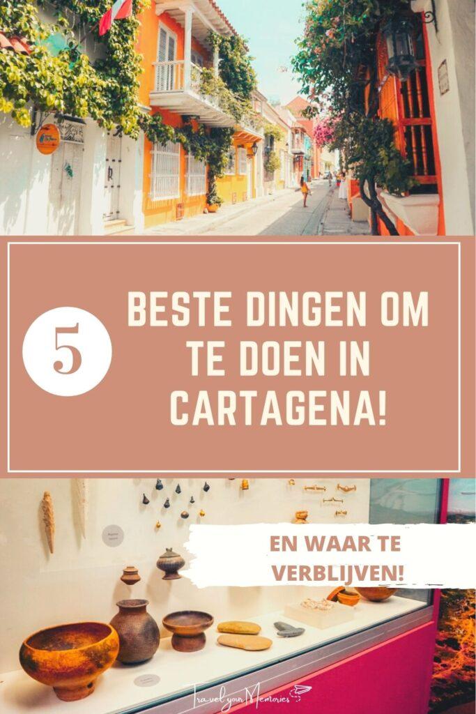 wat te doen in Cartagena Pin I