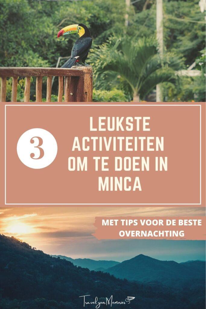 wat te doen in Minca pin II