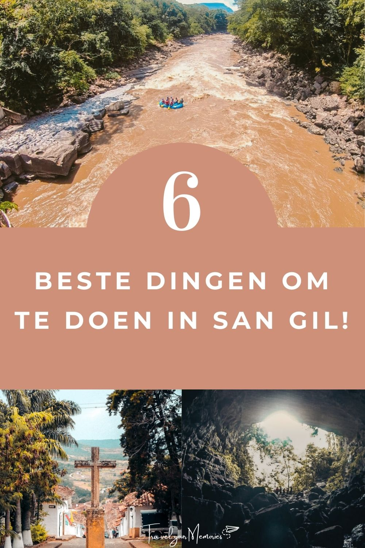 Top 6 dingen om te doen in San Gil Colombia
