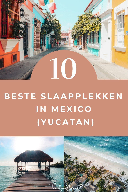 Top 10 accommodaties om te overnachten in Yucatan (Mexico)
