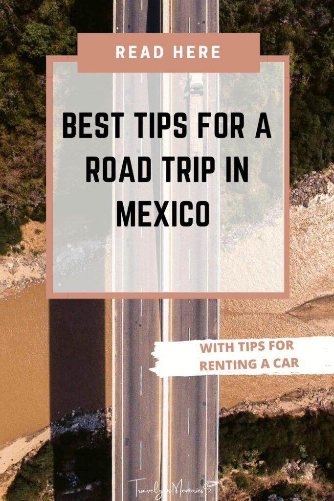 Mexico road trip pin I