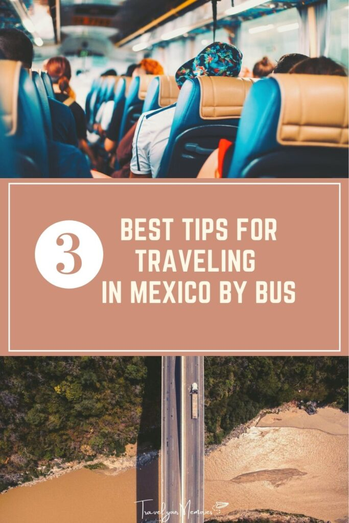 Mexico travel with bus pin I