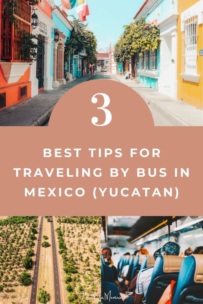Mexico travel with bus pin II