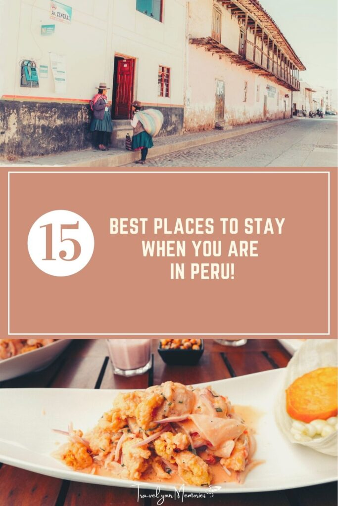 Peru best places to stay pin I
