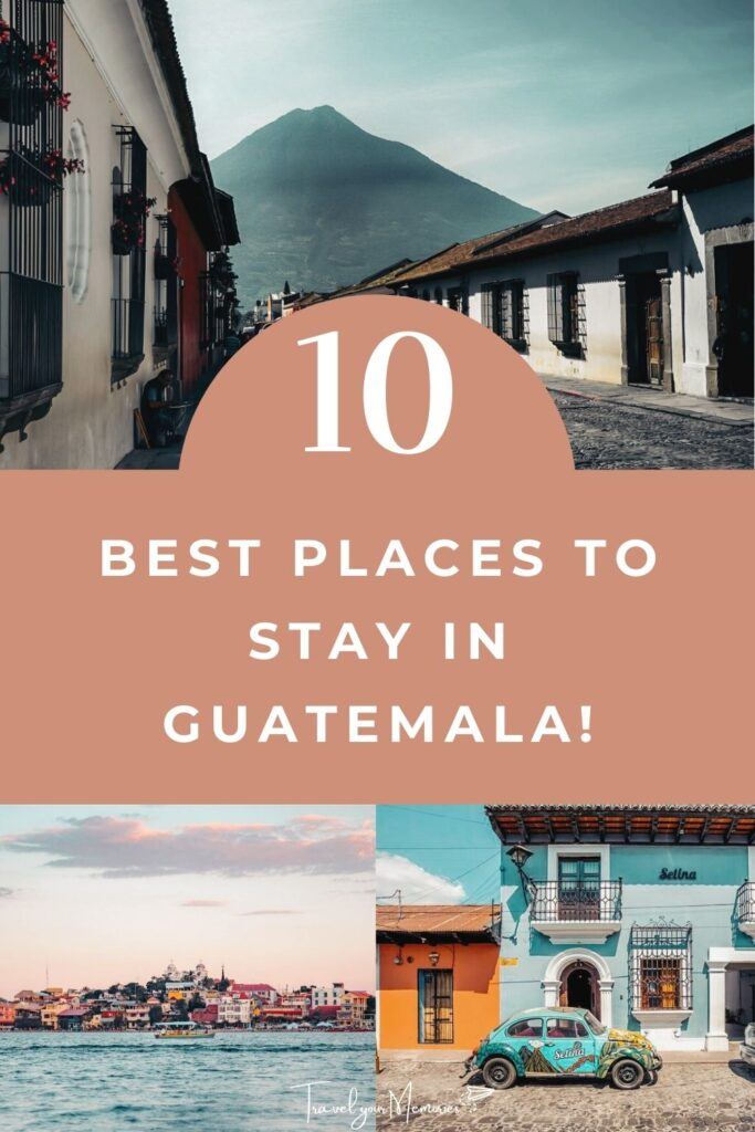 Places to stay in Guatemala Pin II