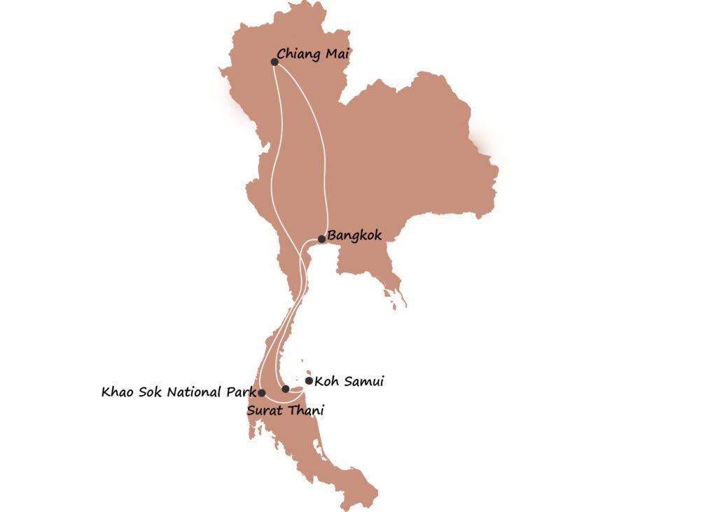 Thailand itinerary 1