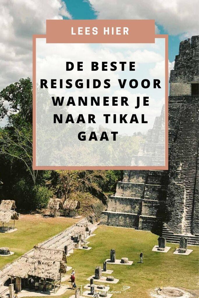 Tikal gids pin II