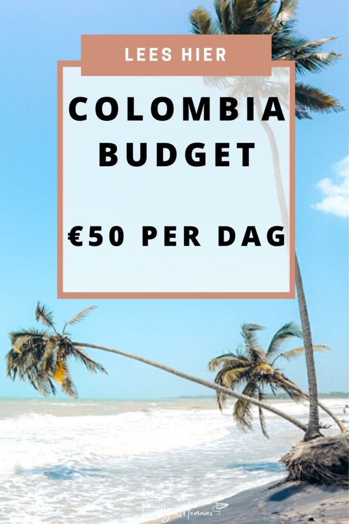 Colombia budget pin I
