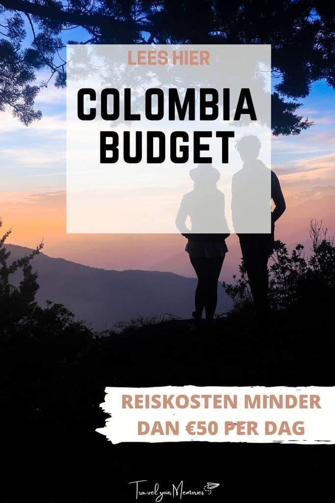 Reiskosten Colombia: hoeveel budget heb je nodig?