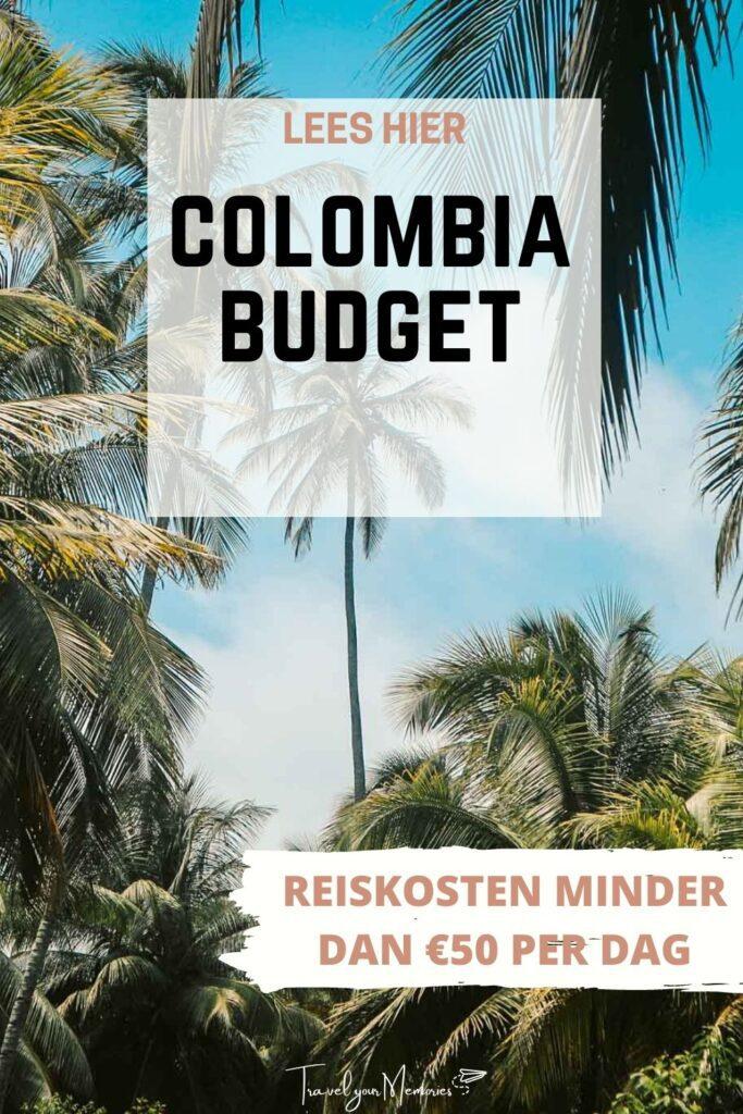 Colombia budget pin III
