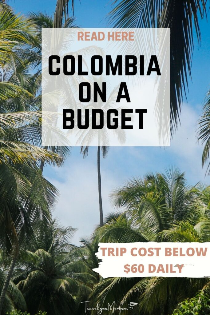 Colombia trip cost pin II