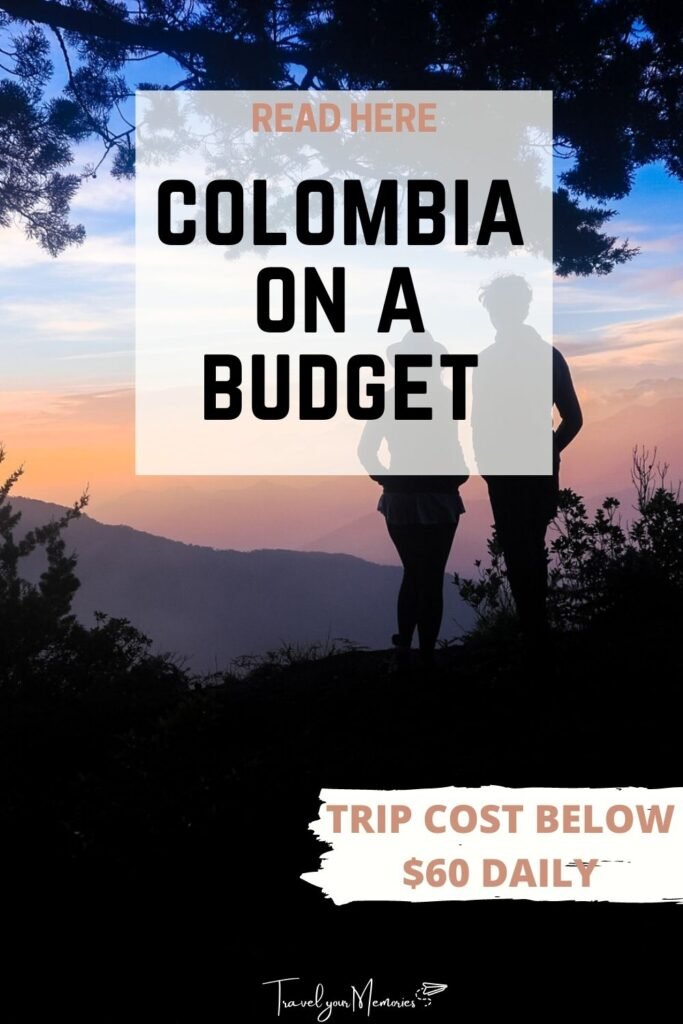 Colombia trip cost pin III