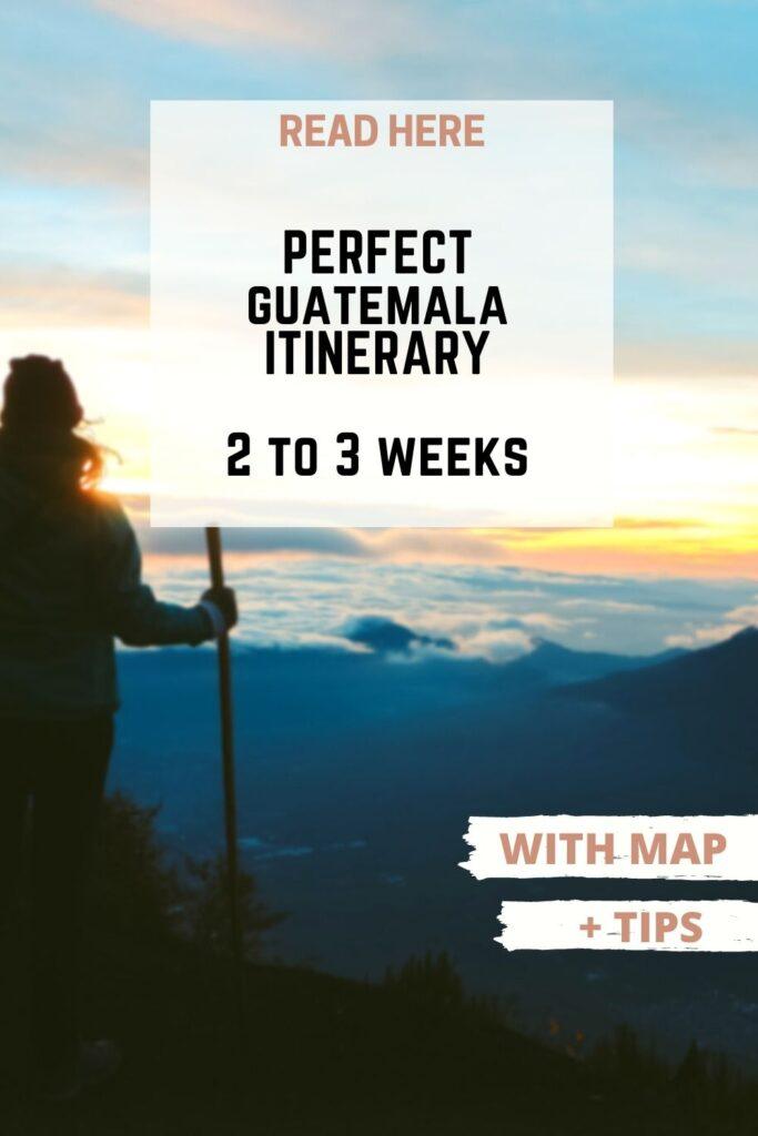 Guatemala itinerary pin II