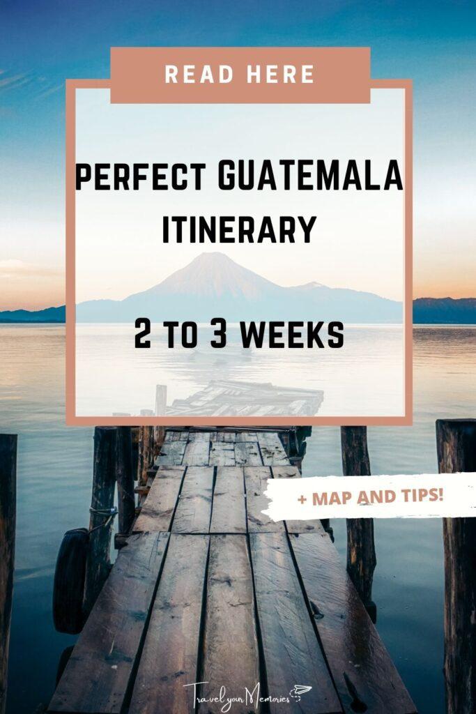 Guatemala itinerary pin III