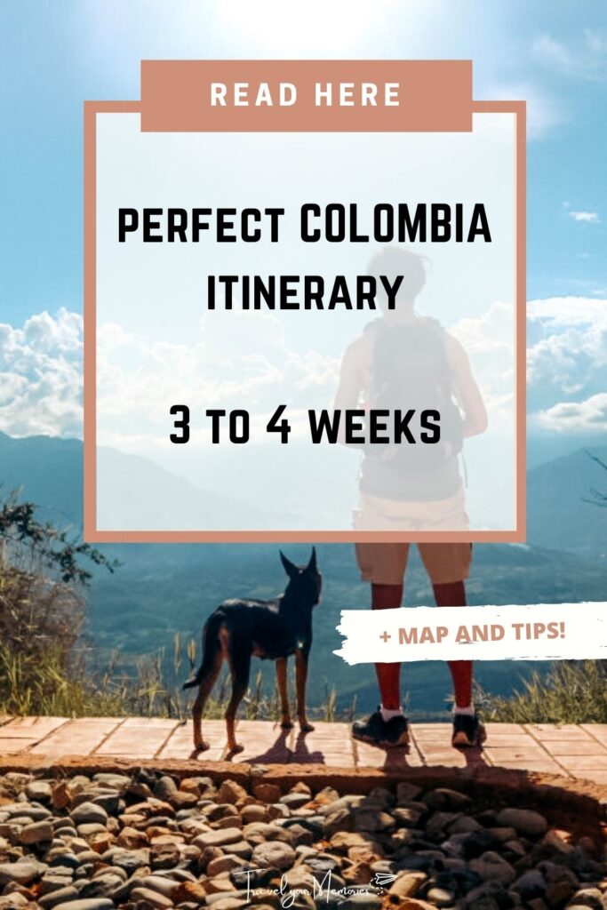 colombia itinerary pin II