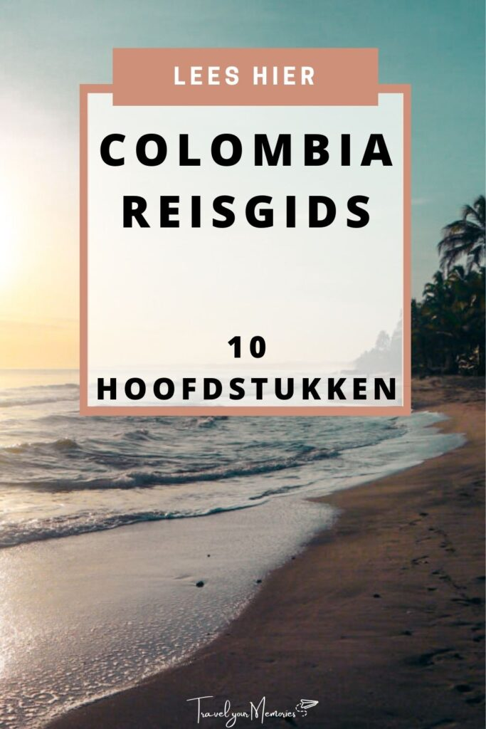 colombia reisgids pin I