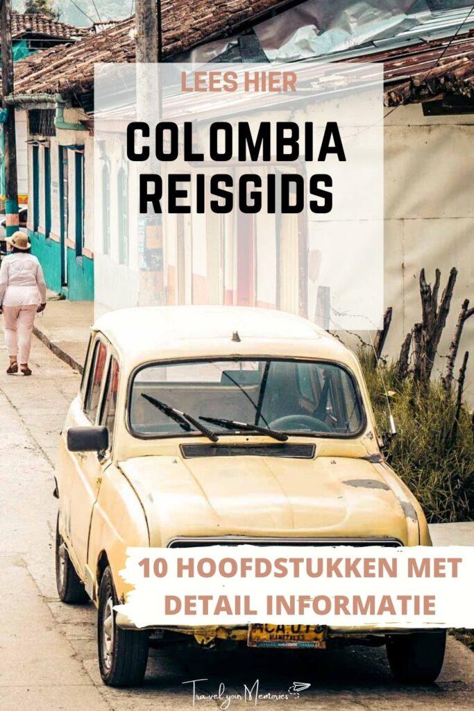 colombia reisgids pin II