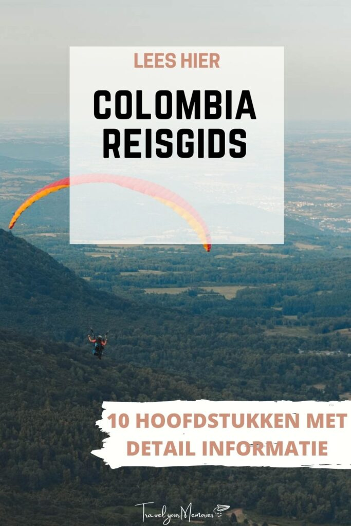 colombia reisgids pin III