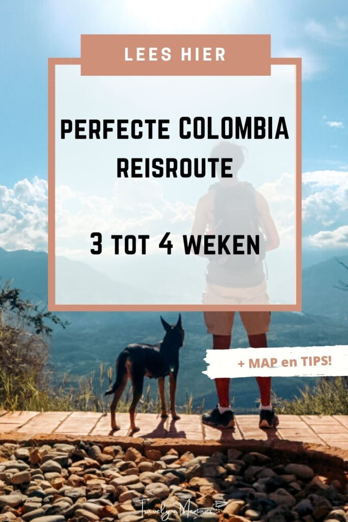 colombia reisroute pin I