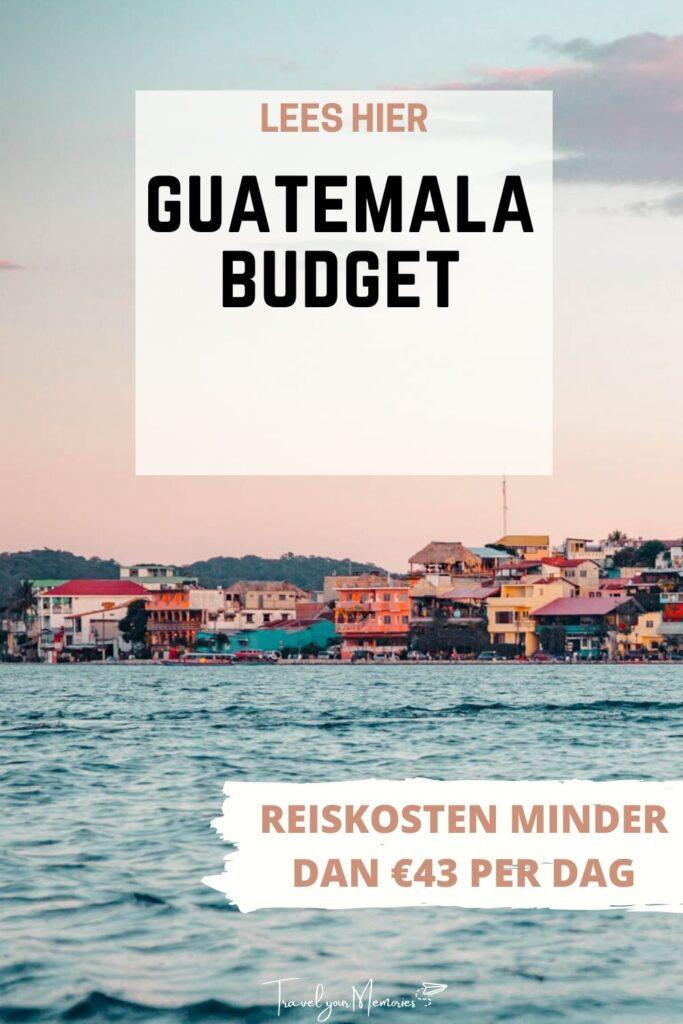 guatemala budget pin III