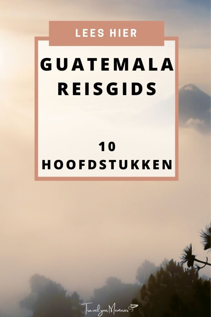 guatemala reisgids pin I