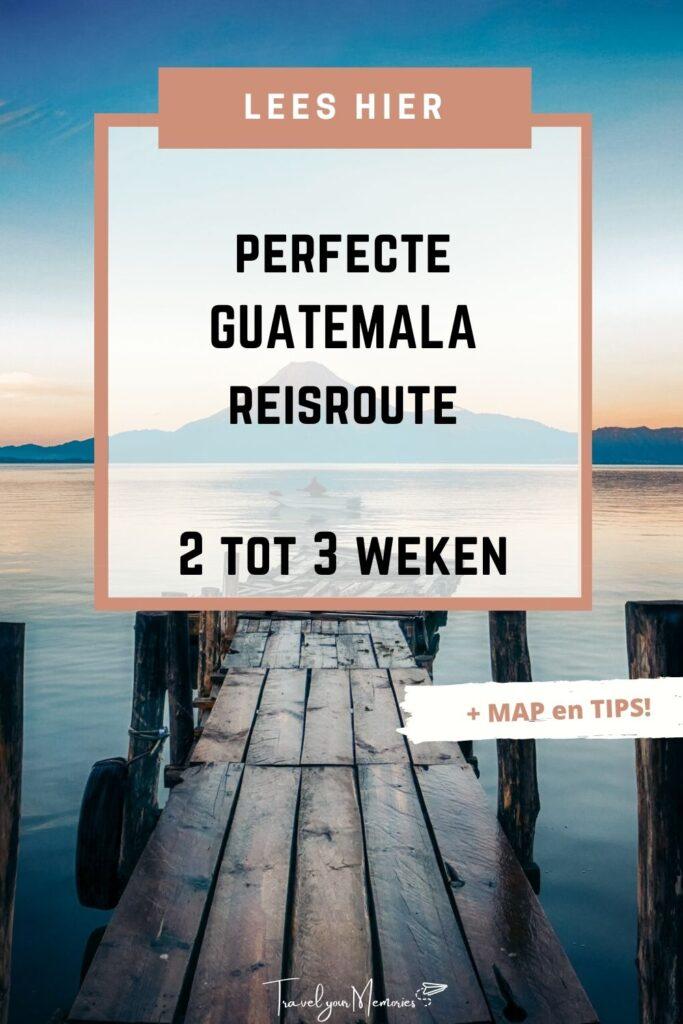 guatemala reisroute pin I
