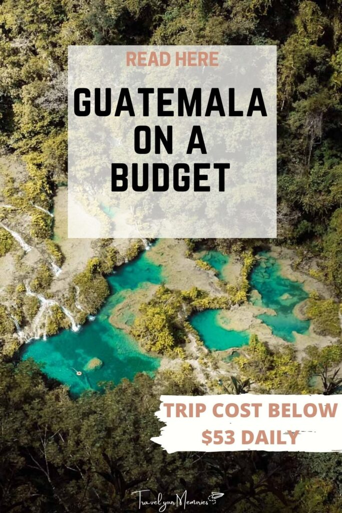 guatemala trip cost pin II