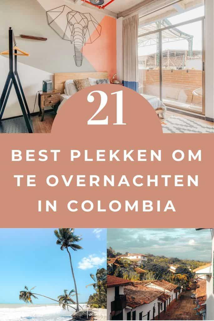 21 Beste accommodaties om te slapen in Colombia