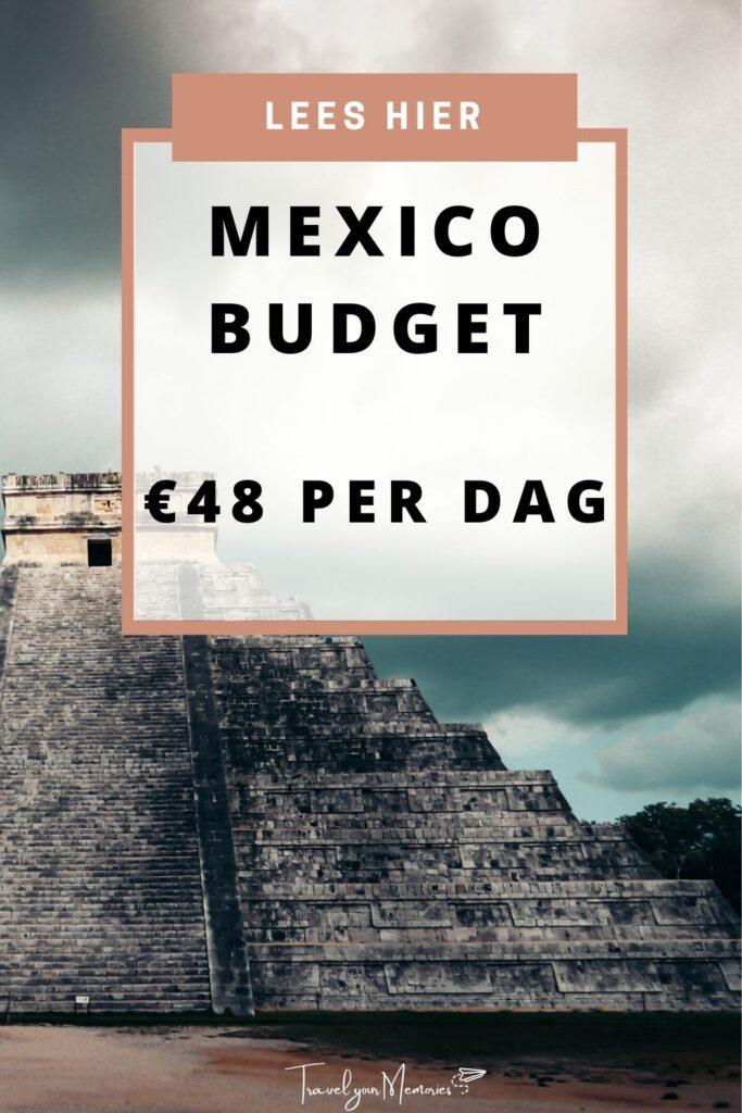 mexico budget pin II