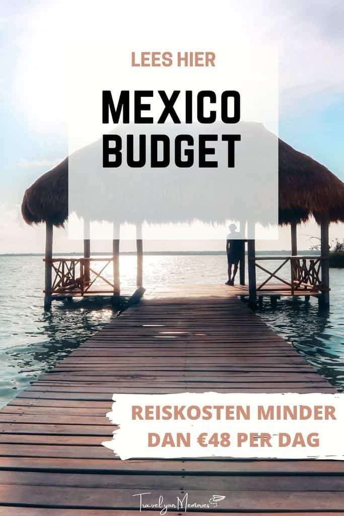 Reiskosten Mexico: hoeveel budget heb je nodig voor Mexico (Yucatan)?