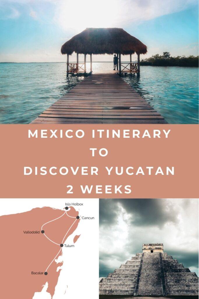 mexico itinerary pin I