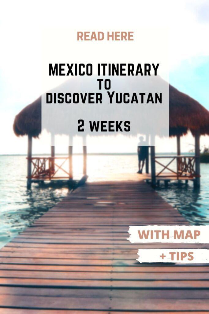 mexico itinerary pin II
