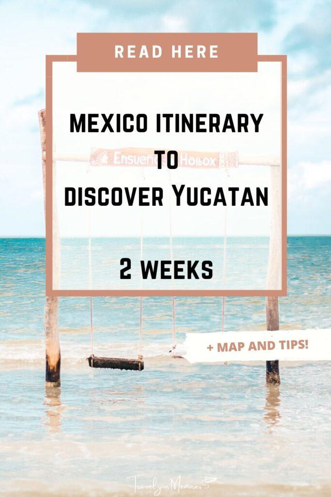 mexico itinerary pin III