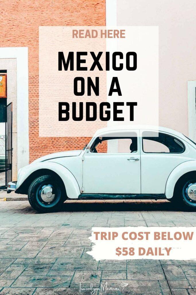 mexico trip cost pin II
