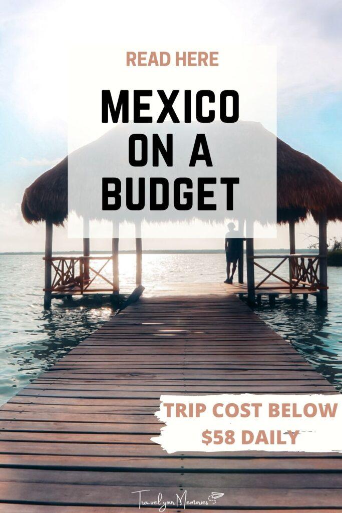 mexico trip cost pin III