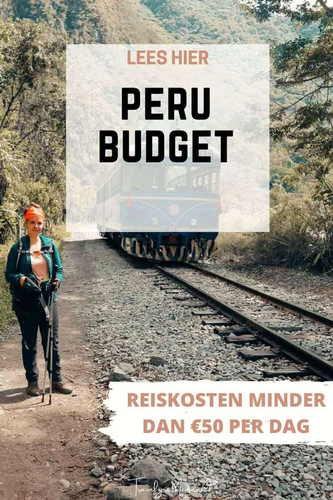 Vakantie Peru kosten: Reis Peru kost dagelijks minder dan €50 per dag