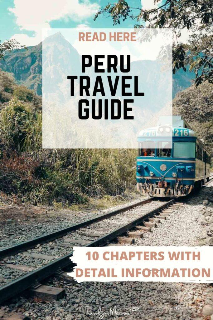 peru travel guide pin I
